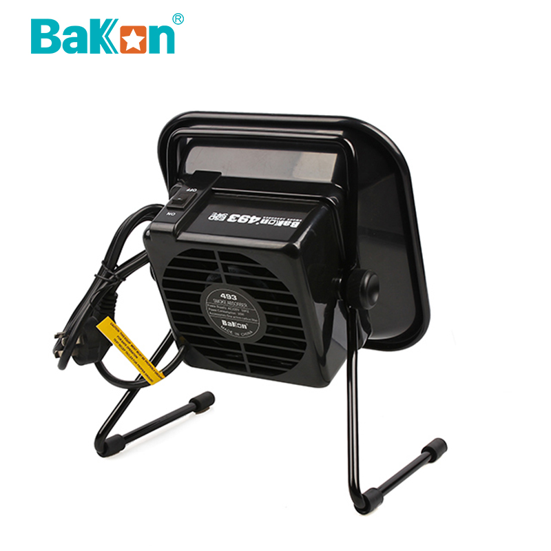 BK493 smart desktop smoke absorber welding fume extractor