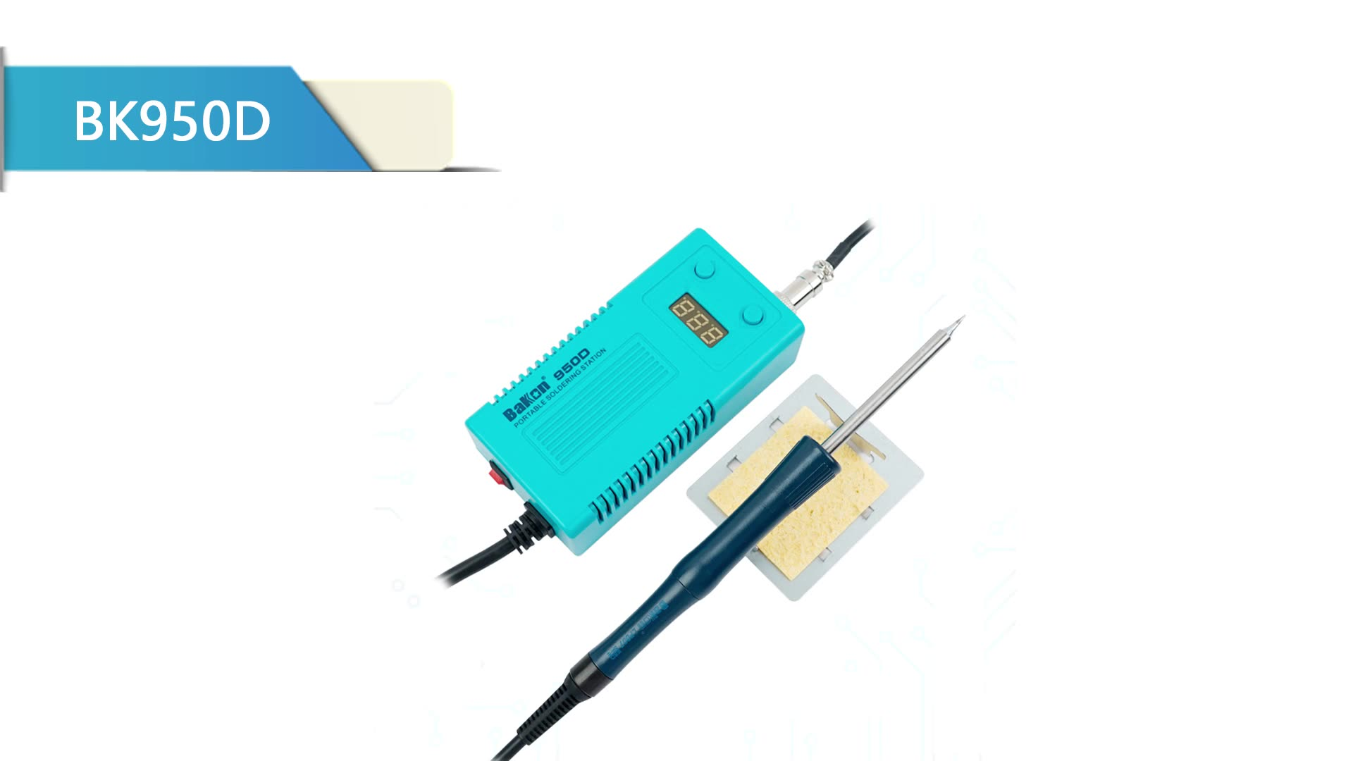 Bakon low price soldering iron 50w for mobile phone