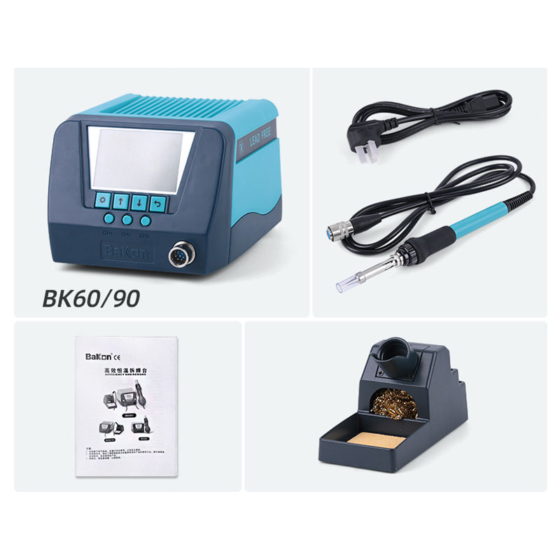 Bakon electric mobile phone repairing temperature control lead free soldering station