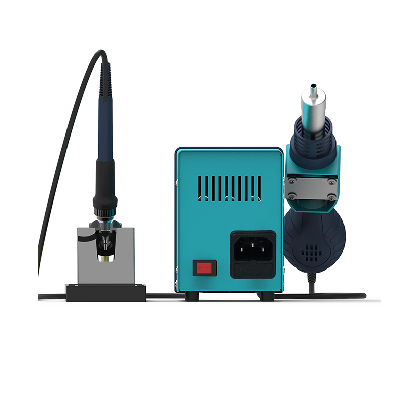 Bakon automatic temperature adjustable soldering station with heat gun