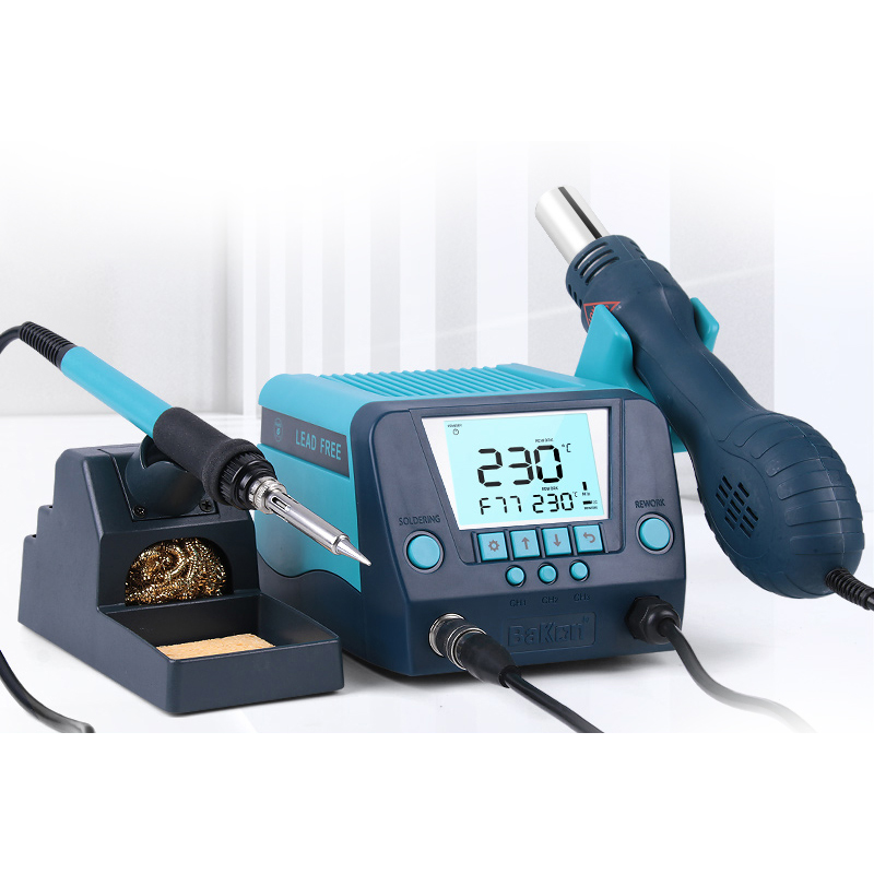 Bakon 2 in 1 750w soldering station