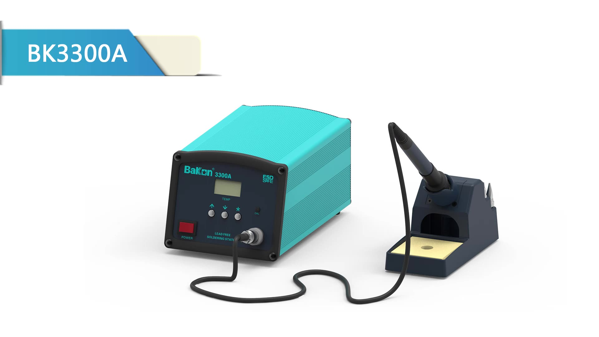 Bakon intelligent esd eddy-current heating lead-free soldering station